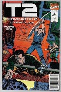 TERMINATOR 2 Judgement Day #3, VF/NM, Death, 1991, more Sci-Fi in store