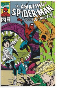 The Amazing Spider-Man: Skating on Thin Ice: Double Trouble #2 (1990) FN-VF