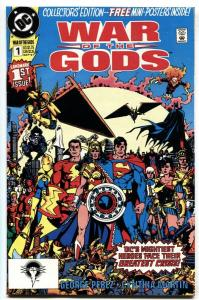 War of the Gods #1 1991 1st full CIRCE-Includes posters - VF/NM