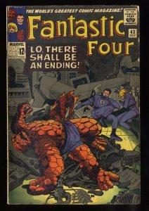 Fantastic Four #43 VG- 3.5