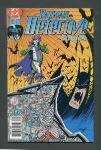 Detective Comics #617 / 9.2 NM-  Newsstand  (JOKER)  July 1990 (J)