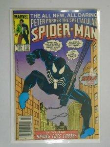 Spectacular Spider-Man #107 Newsstand edition 5.0 VG FN (1985 1st Series)