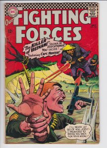 Our Fighting Forces #101 (July 1966) 4.5 VG+ DC