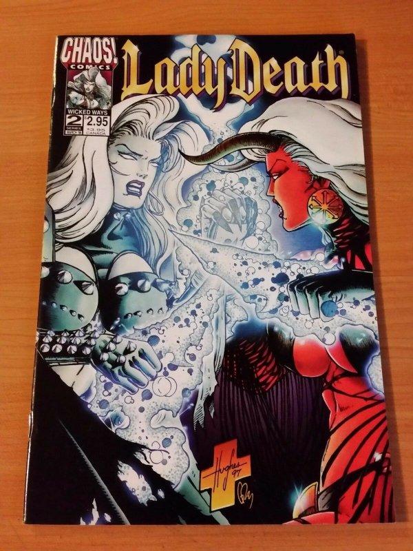 Purgatori #2 ~ NEAR MINT NM ~ (1998, Chaos! Comics)