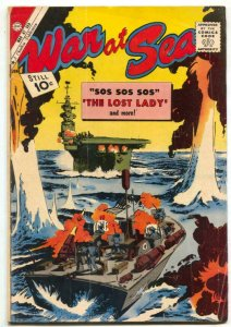 War at Sea #42 1961-Charlton silver age comic VG