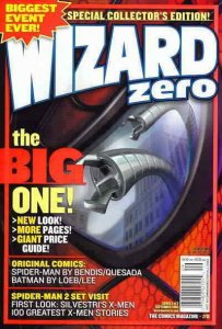 Wizard: The Comics Magazine #0A VG; Wizard | low grade comic - save on shipping