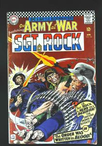 Our Army at War (1952 series) #166, VG+ (Actual scan)