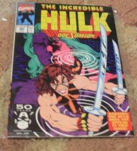 incredible hulk  # 380  1991 marvel  new hulk doc samson pantheon
