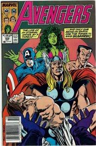 Avengers #308 (1963 v1) John Byrne Namor Newsstand NM