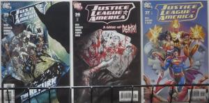 JUSTICE LEAGUE OF AMERICA (DC, 2006) #35-37 VF-NM Royal Flush pts 1-3 COMPLETE
