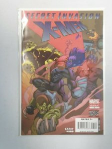 Secret Invasion X-Men #1B (2nd Print) Variant Cover 8.0 VF (2008)