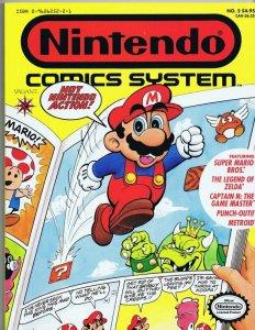 ORIGINAL Vintage 1990 Nintendo Comics System #2 Super Mario TPB