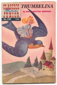 Classics Illustrated Junior #520 HRN 568- Thumbelina VG