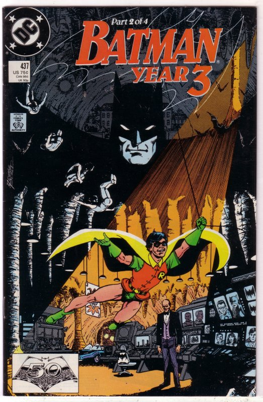 Batman   vol. 1   #437 VG (Year Three 2)
