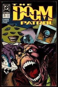 Doom Patrol #25 Grant Morrison (Aug 1989, DC)  6.5 FN+