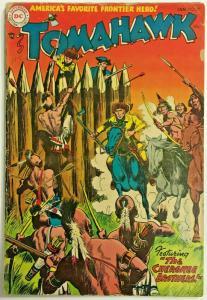 TOMAHAWK#29 GD/VG 1955 DC GOLDEN AGE COMICS