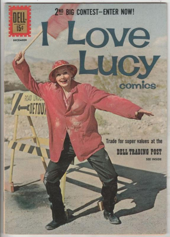 I Love Lucy #33 (Dec-61) VF/NM High-Grade Lucy Ricardo, Ethel Mertz