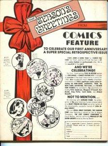 LOC #1 1980-1st issue-Carol Kalish-Richard Howell-Wonder Woman-VG