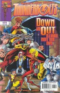 Thunderbolts (1997 series) #13, NM (Stock photo)