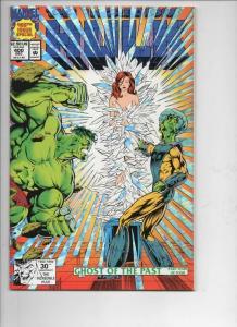 Incredible HULK #400, NM, Silver Foil, Bruce Banner, 1968 1992, Marvel