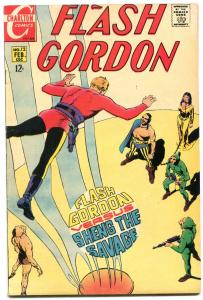 FLASH GORDON #12-1ST CHARLTON ISSUE-CRANDALL ART FN
