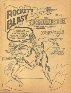 Rocket's Blast  & Comicollector #45 1966-Phil Seuling-Rogofsky-Jerry Bails-VG-