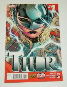 Thor (4th Series) #1 VF/NM; Marvel - jane foster as female Thor - 1st print