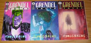 Grendel Tales: Homecoming #1-3 VF/NM complete series - matt wagner  dark horse 2