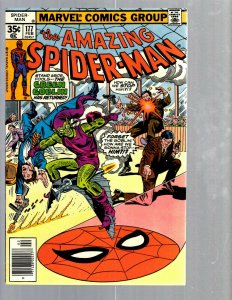 Amazing Spider-Man # 177 NM- Marvel Comic Book MJ Vulture Goblin Scorpion TJ1