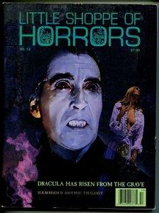 Little Shoppe of Horrors #13  1994-Hammer Films-Peter Cushing-Dracula-VG
