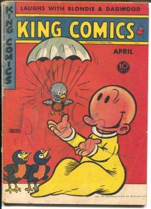 King Comics #108 1945-newspaper comic strip reprints-Popeye-Phantom-G