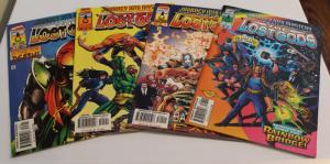 Marvel(Lot of 4) Journey Into Mystery THE LOST GODS#503-#506 F/VF (SIC599)