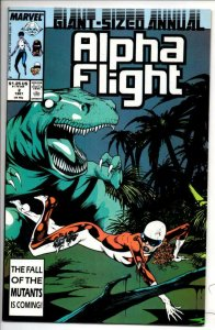ALPHA FLIGHT #2 Annual VF/NM, Marvel, Dinosaur 1983 1987, more in store