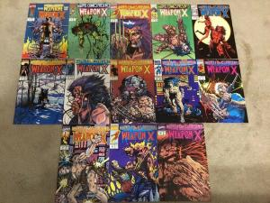 Marvel Comics Presents 72-84 * Weapon X Complete Set *