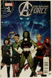 A-Force #1 & Nova #1 Nice Copies, Marvel Cosmic Issues!!