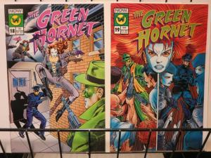 GREEN HORNET (1991 NOW) 18-19 SISTER-HOOD STORY !