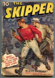 The Skipper Pulp September 1937- Cap Fury- Black Daylight G