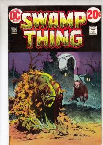 Swamp Thing #4 (May-73) VF/NM+ High-Grade Swamp Thing