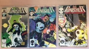 Punisher 2-7 Near Mint Lot Run Set