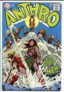 Anthro #2-DC Stone Age Cave Man comic-1968 VG