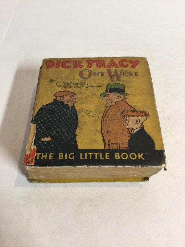 Dick Tracy Out West Fr Fair 1.0 Big Little Book 723