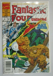 Fantastic Four Unlimited #1 Black Panther 8.0 VF (1993)