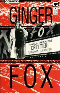 Ginger Fox #4 FN; COMICO   save on shipping - details inside