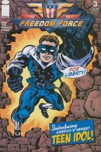 Freedom Force #3 VF/NM; Image | save on shipping - details inside