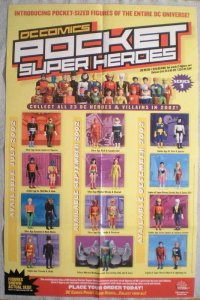 POCKET SUPER HEROES Promo poster, 22x34, 2002, Unused, more Promos in store