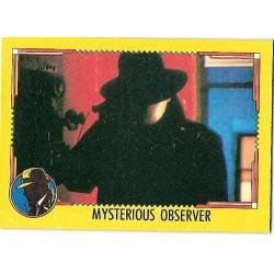 1990 Topps DICK TRACY-MYSTERIOUS OBSERVER #53