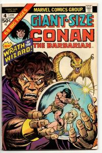 Conan the Barbarian Giant-Size #4 (Marvel, 1975) FN