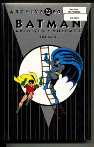 Batman Archives 4 hardcover- sealed