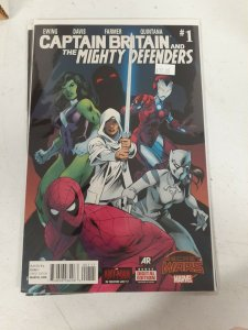Captain Britain And Mighty Defenders #1 Marvel Comics Comic Book NW27