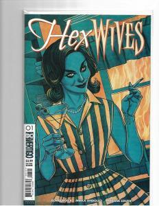 Hex Wives #1 - Cover B - NM - Jenny Frison Variant - DC/Vertigo